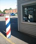 Image for Sandy's Barber Shop.  Amherst, MA.