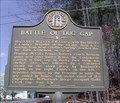 Image for Battle of Dug Gap - GHM 155-10 - Whitfield Co., GA