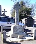 Image for Marhamchurch War Memorial Cross, North Cornwall, UK