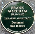 Image for Frank Matcham - Cranbourn Street, London, UK