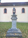 Image for Christian Cross - Tuchlovice, by the church, Czechia