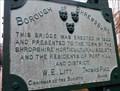Image for Porthill Bridge - 1922 - Shrewsbury, Shropshire, UK.