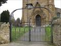 Image for St Leonard's Church Gates - Main Street, Loddington, Northamptonshire, UK