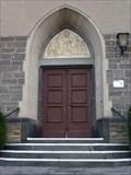"""Image for Türe der Katholische Pfarrkirche """"St. Lambert und Katharina"""" - Niederlützingen - RLP - Germany"""