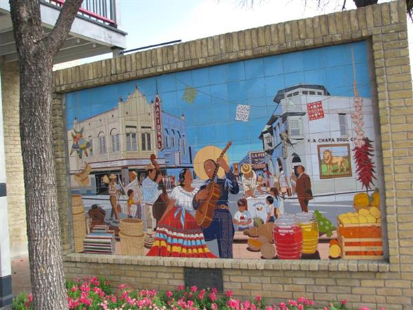 La Feria San Antonio Texas Murals On Waymarking Com
