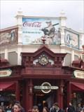Image for Affiche Coca Cola. Disneyland Paris