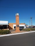 Image for F.F.Mills Testimonial Clock - Clermont, QLD