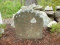 Image for Franklin Mile Marker - 65 Miles From Boston - 1767 Milestones - Brookfield, MA