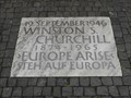 Image for Winston Churchill - Zurich, Switzerland