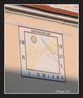 Image for Sundial on a former Agricultural School - Mladá Boleslav, Czech Republic