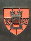 Image for CoA City Euskirchen at the St. Jakob stele,  Euskirchen - Nordrhein-Westfalen / Germany
