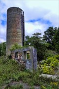 Image for Remains of a stone barn and concrete silo - Belfountain, Ontario
