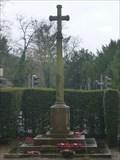 Image for Christian Cross - Trentham War Memorial - Stoke-on-Trent, Staffordshire, UK.