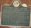 Image for Guthrie Daily Leader - Guthrie, OK