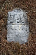 Image for FIRST Marked Grave in Cottonwood Cemetery - Dublin, TX