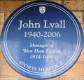 Image for John Lyall - Green Street, London, UK