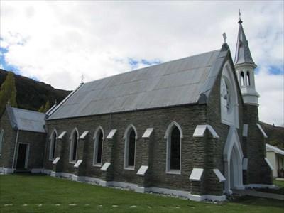 St  Patricks Catholic Church - Arrowtown, New Zealand - This