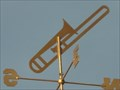 Image for Trombone Weathervane, Hwy 192 East, Kissimmee. Florida.