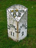 Image for Bedford Road Milestone - Near Rushden, Northamptonshire, UK