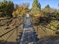 Image for Since 1926, a swinging bridge has connected two parts of this Oklahoma town