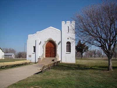 Post Chapel At Fort Reno