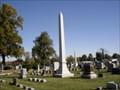 Image for Davis Family Obelisk, Immanuel Cemetery, Jacksonville, Illinois.