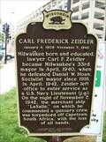 Image for Carl Frederick Zeidler Historical Marker