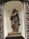 Image for Virgin Mary with infant Jesus at von Kellerstrasse, Linz am Rhein - RLP / Germany