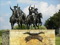 Image for Donley's Wild West Town 4 Cowboys Statue - Union, IL