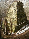 Image for Wilroy Iron Furnace, Slippery Rock creek, Pennsylvania, USA