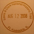 Image for Lewis & Clark National Historic Trail - Ft. Kaskaskia, IL