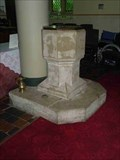 Image for Font, St Peter's, Cookley, Worcestershire, England