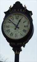 Image for City Square Clock- Girard, PA