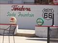 Image for Historic Route 66 - Twisters Soda Fountain - Williams, Arizona, USA.