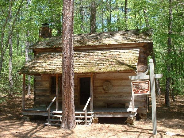 Pioneer Log Cabin At Callaway Gardens   Relocated Structures On  Waymarking.com