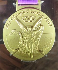 Gold Olympic Medal.