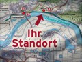 Image for Marker at the path to Walhalla, Donaustauf - Bavaria / Germany