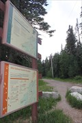 Image for Ellis Cross Country Ski Trailhead -- Sandia Mtns nr Albuquerque NM