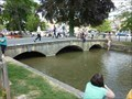 Image for Road bridge - 1911 - River Windrush, Bourton on the Water, Gloucestershire, Englamd