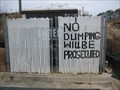 Image for No Dumping - Bethleham, GA