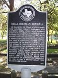 Image for Belle Sherman Kendall