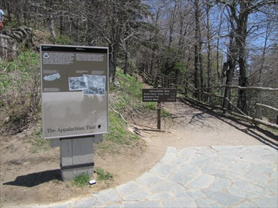 Setting of Both Signs, Newfound Gap, Tennessee