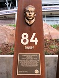Image for Shannon Sharpe, Ring of Fame Plaza, Mile High Stadium - Denver, CO