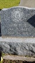 Image for John Rigg - Trinity Episcopal Cemetery, Galveston, TX