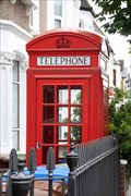 Image for Red Telephone Box - Ivydale Road, London, UK