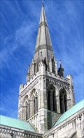Image for Medieval Cathedral Spire - Chichester, West Sussex, UK.