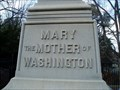 Image for Mary Washington Grave and Monument, Fredericksburg, VA