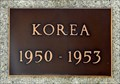 Image for Creston Legion Branch 029 Korean War Memorial Plaque - Creston, BC