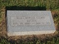 Image for 100 - Mary Myrtle Talbot Little - Fairlawn Cemetery - Stillwater, OK
