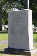 Image for Shearith Israel Veteran's Memorial -- Shearith Israel Memorial Park, Dallas TX